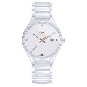 Rado Men's True Collection Diamond Watch 40mm NIB